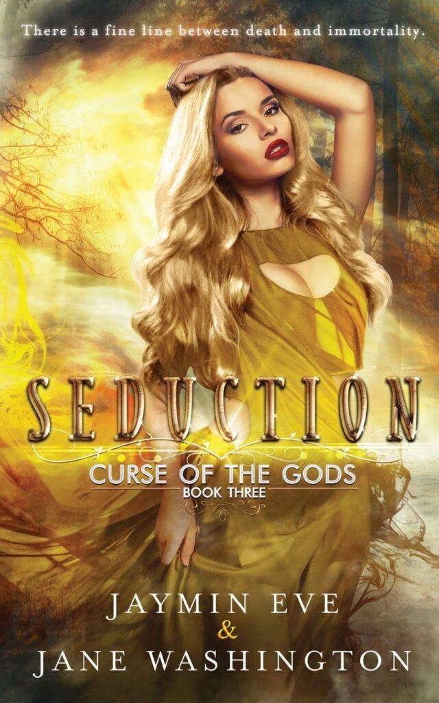seduction curse of the gods series by jaymin eve and jane washington